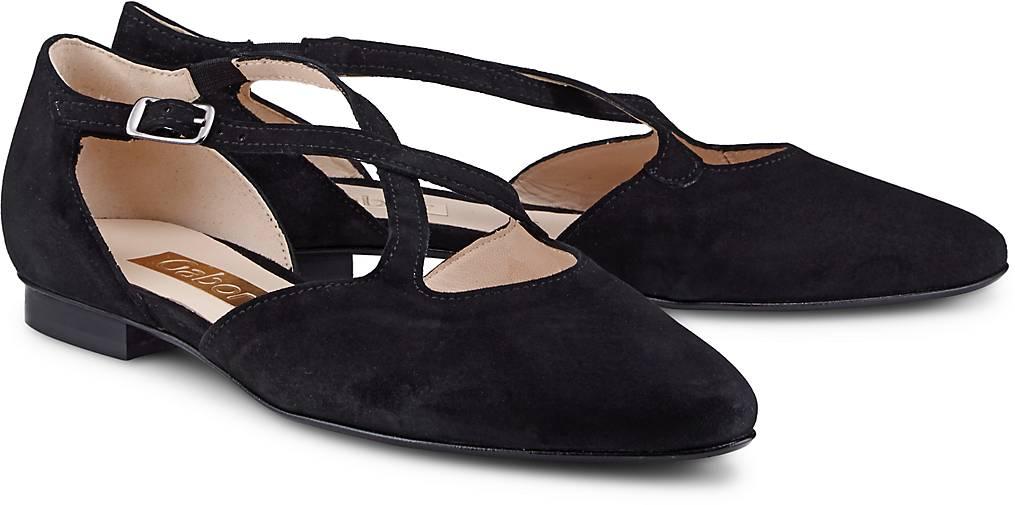 Gabor Riemchen-Ballerina in in in schwarz kaufen - 46210001 GÖRTZ Gute Qualität beliebte Schuhe 5c347e