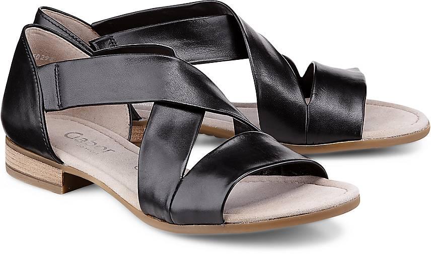 Gabor Sandale Rhodos G in schwarz kaufen - 47157601   GÖRTZ eee5ec8528