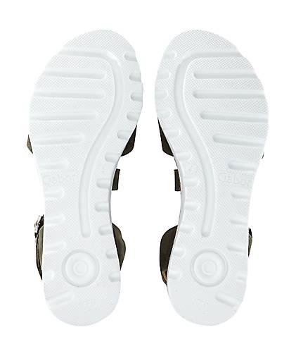 Gabor Gabor Gabor Sandalette FLORENZ in khaki kaufen - 47162102 GÖRTZ Gute Qualität beliebte Schuhe 8a82d1