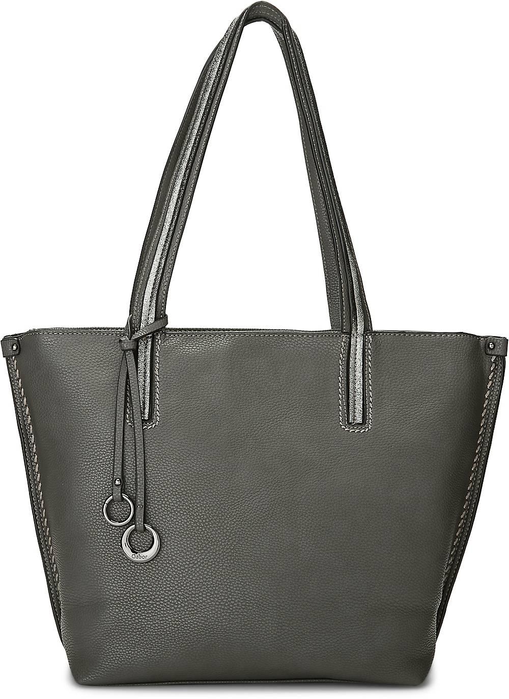 Shopper Cosima von Gabor in grau für Damen