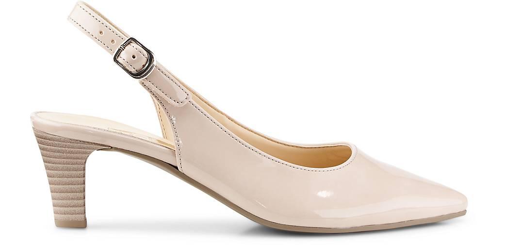 Gabor Sling-Pumps in beige kaufen - Qualität 46207903 GÖRTZ Gute Qualität - beliebte Schuhe 81b127