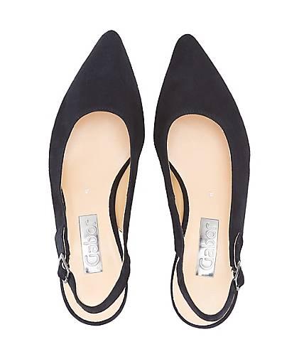 Gabor Sling-Pumps in blau-dunkel kaufen - - - 47159903 GÖRTZ Gute Qualität beliebte Schuhe bcc090