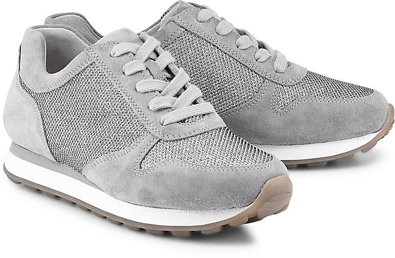 Gabor Sneaker YORK G in silber kaufen - 47157902   GÖRTZ 37b1b0d5ec