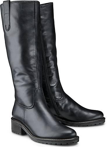 Gabor Shoes Comfort Sport, Damen Kurzschaft Stiefel, Schwarz