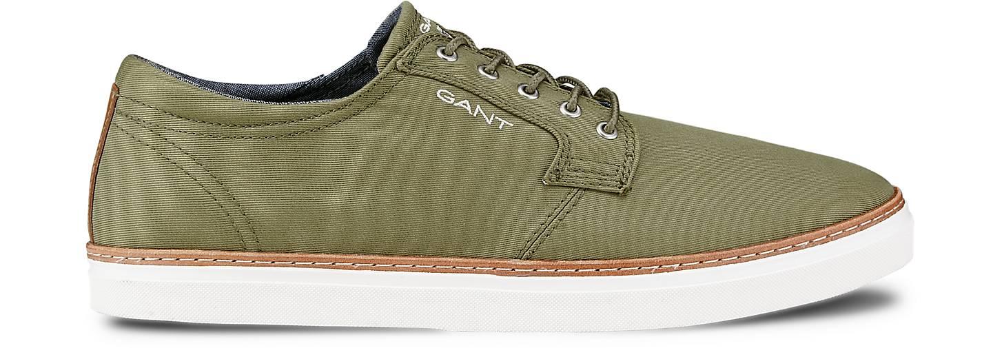Gant Leinen-Sneaker - BARI in khaki kaufen - Leinen-Sneaker 45301203 | GÖRTZ Gute Qualität beliebte Schuhe adbf8f