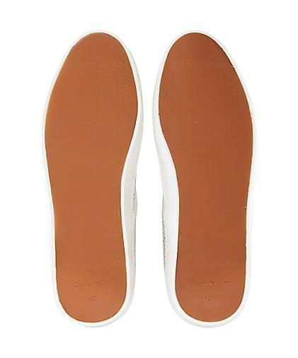 Gant Leinen-Sneaker VIKTOR in beige kaufen - 47095601 beliebte | GÖRTZ Gute Qualität beliebte 47095601 Schuhe abbd47