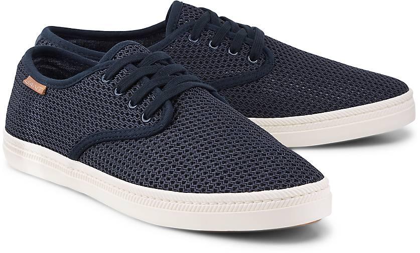 Gant Leinen-Turnschuhe VIKTOR in blau-dunkel kaufen - 47095602 GÖRTZ Gute Qualität beliebte Schuhe