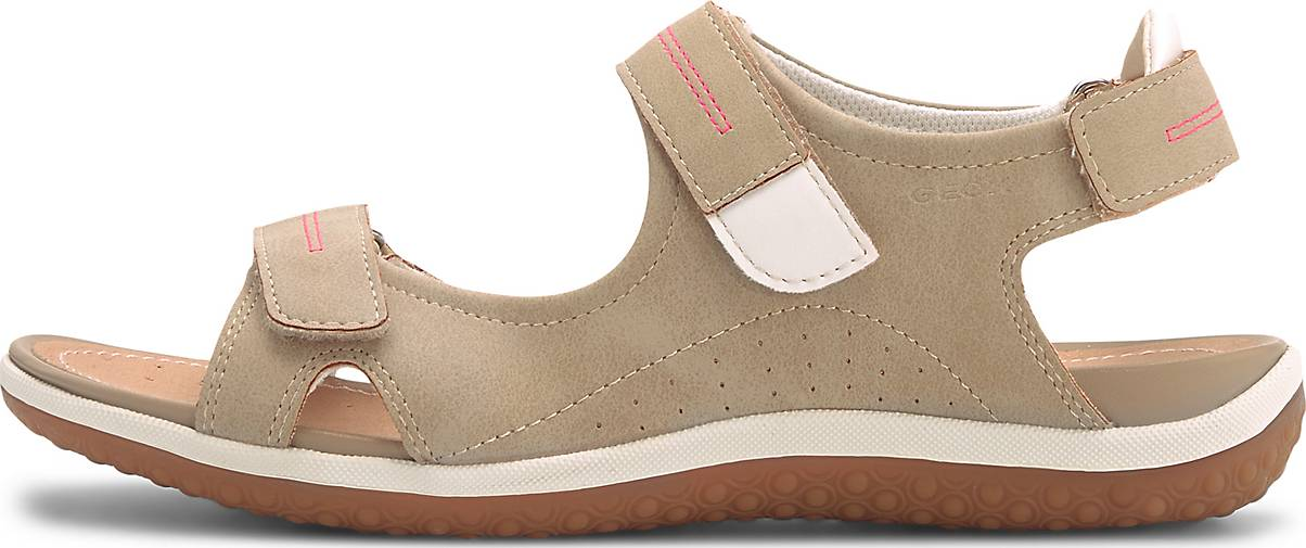 geox sandalen damen nubuk