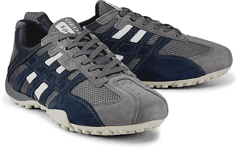 35037979e0b6a0 Geox Sneaker SNAKE in grau-dunkel kaufen - 48189301