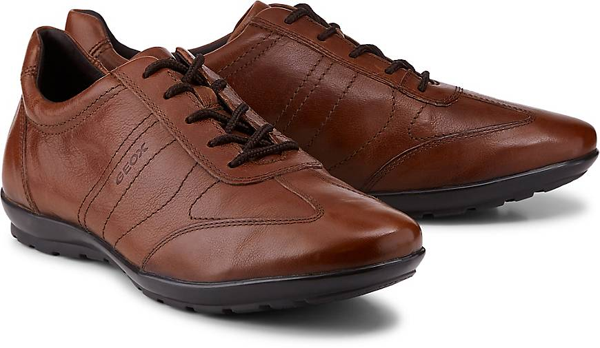 Geox Herren Schuhe Uomo Symbol A Oxfords