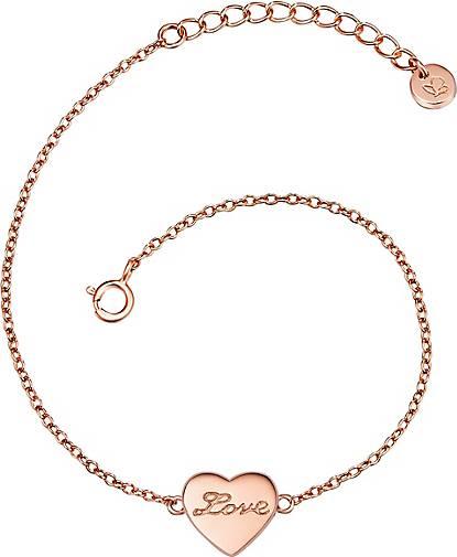 Glanzstücke München Armband Herz/ Love