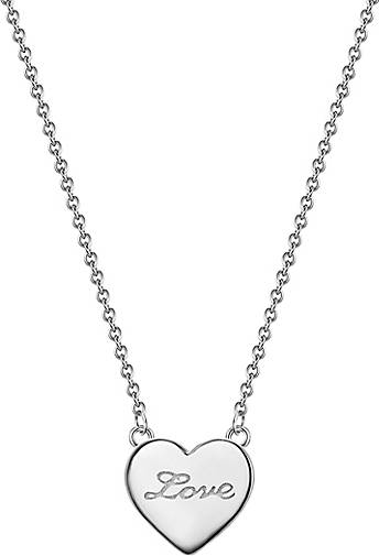 Glanzstücke München Halskette Herz/ Love