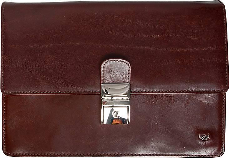 Golden Head Colorado Business Herrentasche Handgelenktasche Leder 23 cm