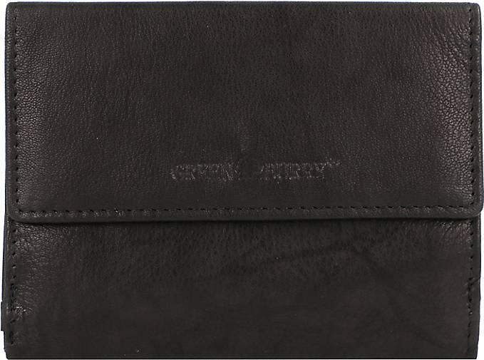Greenburry Basic Geldbörse RFID Leder 13 cm