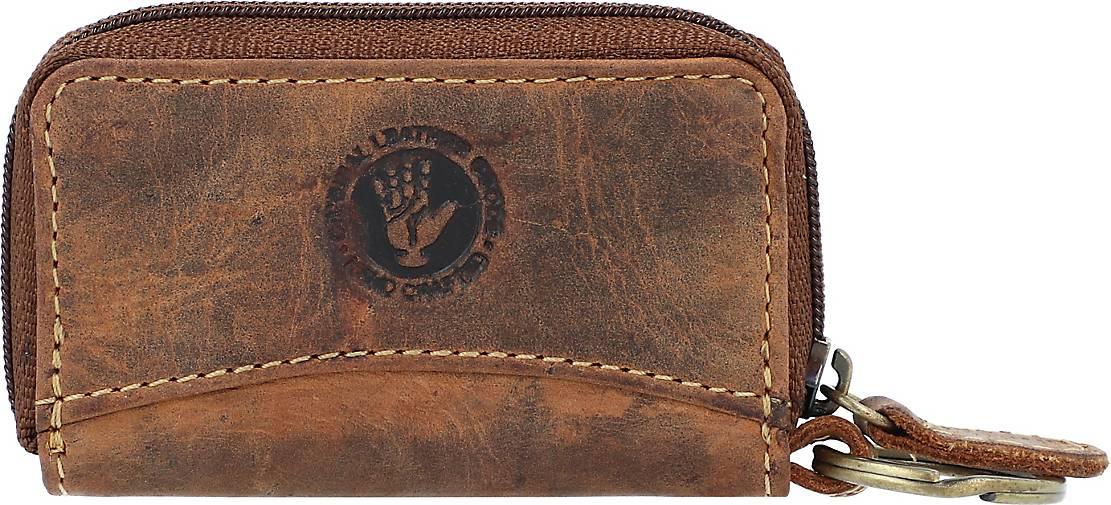 Greenburry Vintage Schlüsseletui Leder 8,5 cm
