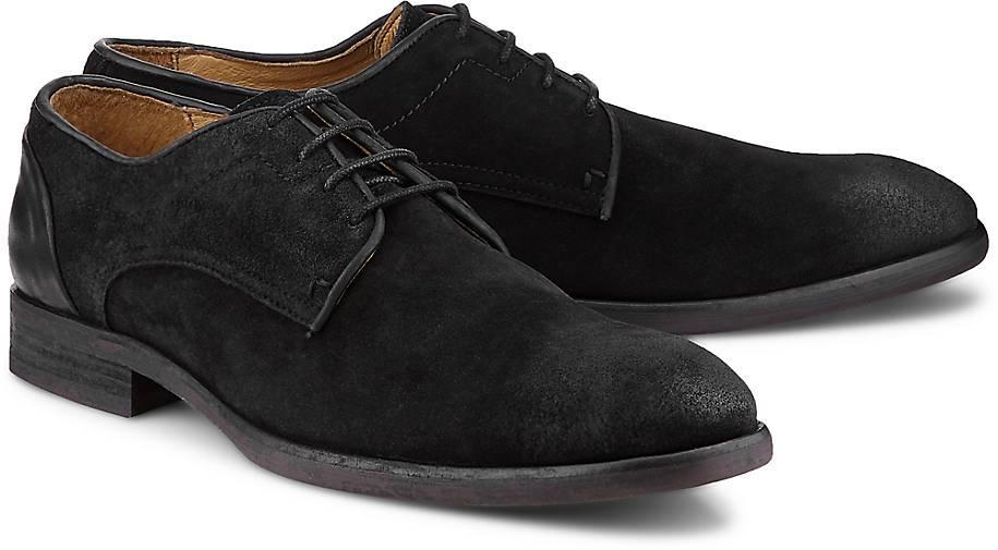 H by Hudson Schnürer DREKER SUEDE in schwarz kaufen - 47074002 GÖRTZ Gute Qualität beliebte Schuhe
