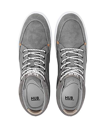 HUB Sneaker PANAMA MID in grau-hell kaufen - 47113702 beliebte | GÖRTZ Gute Qualität beliebte 47113702 Schuhe 12b28d