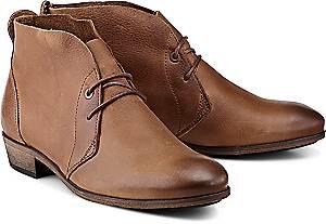 HUB, Stiefelette Chuckie in braun, Boots für Damen