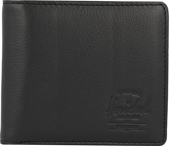 Herschel Hans XL Geldbörse RFID Leder 11 cm