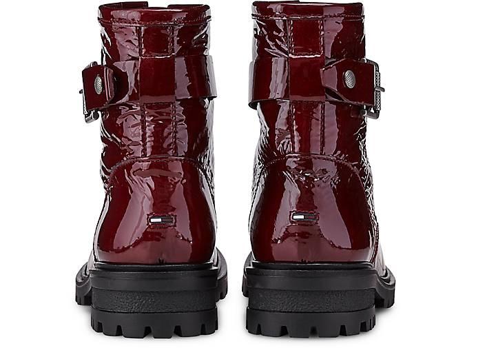 Hilfiger Denim Schnür-Boots 46554901 in bordeaux kaufen - 46554901 Schnür-Boots | GÖRTZ 25415a