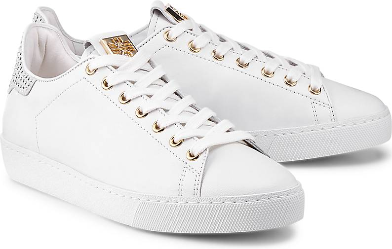 Högl Leder-Sneaker in weiß GÖRTZ kaufen - 47348501 | GÖRTZ weiß 2b1f1c