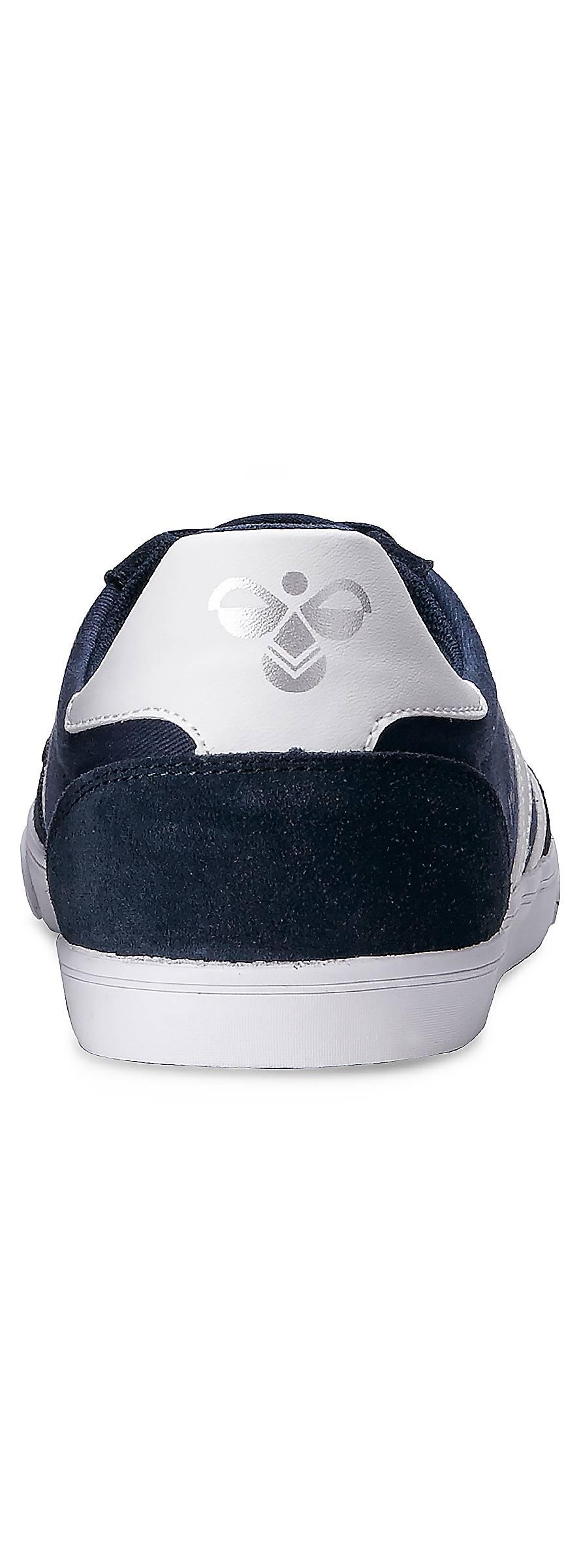 hummel slimmer stadil low sneaker low blau dunkel goertz. Black Bedroom Furniture Sets. Home Design Ideas