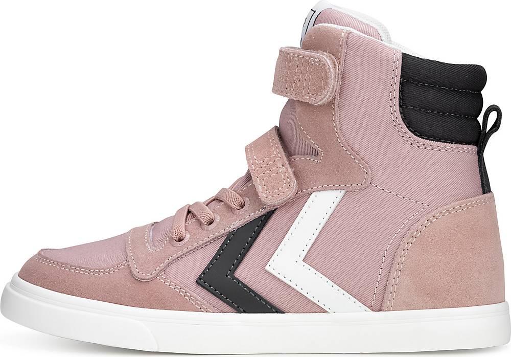 Hummel, Sneaker Slimmer Stadil Hi. Jr in rosa, Sneaker für Jungen, Größe: 34