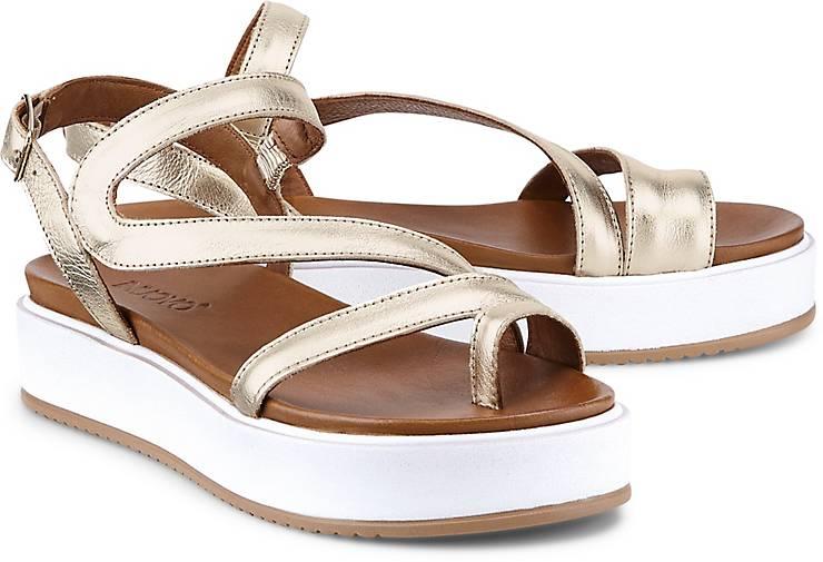 sandalette gold weite g