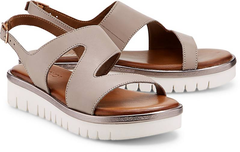 Platform sandalette Taupe Plateau Kaufen sandaletten Inuovo hell In D9YEHe2IW