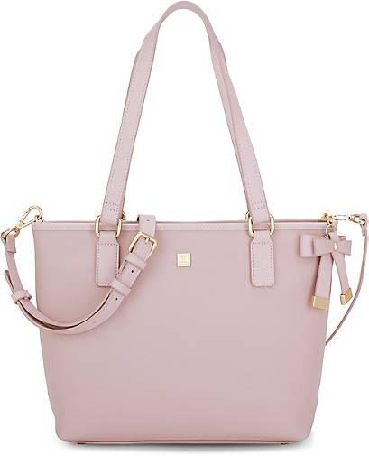 7f94546600169f JETTE Shopper SAFFIANO BOW in rosa kaufen - 48457702