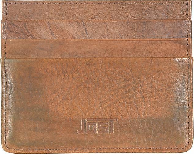 JOST Ranger Kreditkartenetui Leder 10 cm