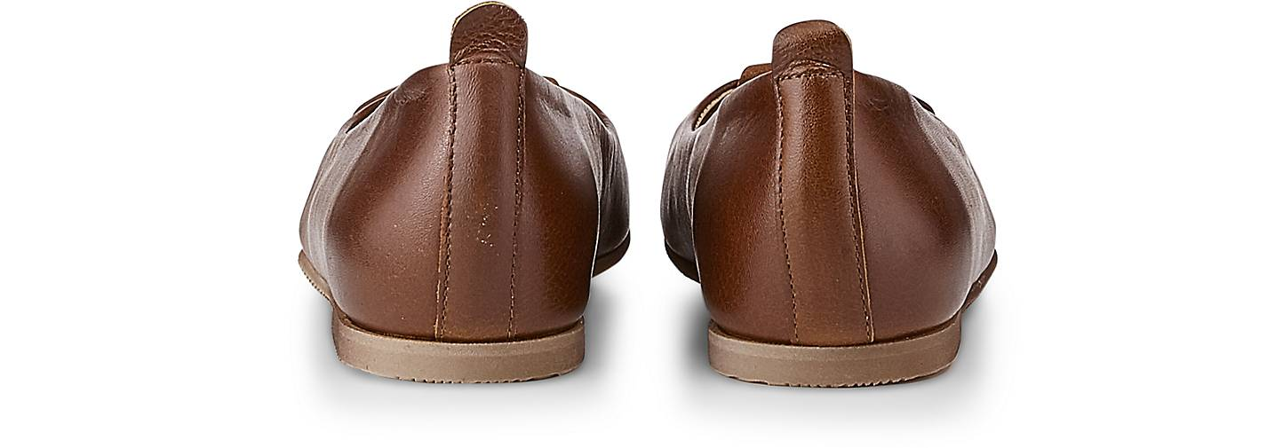 KMB Ballerina CRESPU CML in braun-mittel kaufen - Qualität 47408501 | GÖRTZ Gute Qualität - beliebte Schuhe 6938e8