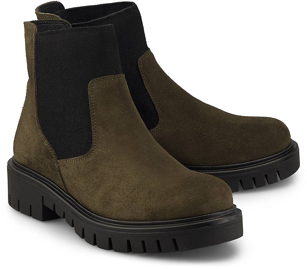 KMB Chelsea Boots SAIGON khaki~49033803~front~1000 - aktuelle Schnäppchen von Goertz
