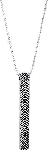 KUZZOI Halskette Herren Venezianerkette Basic Oxidiert 925 Silber