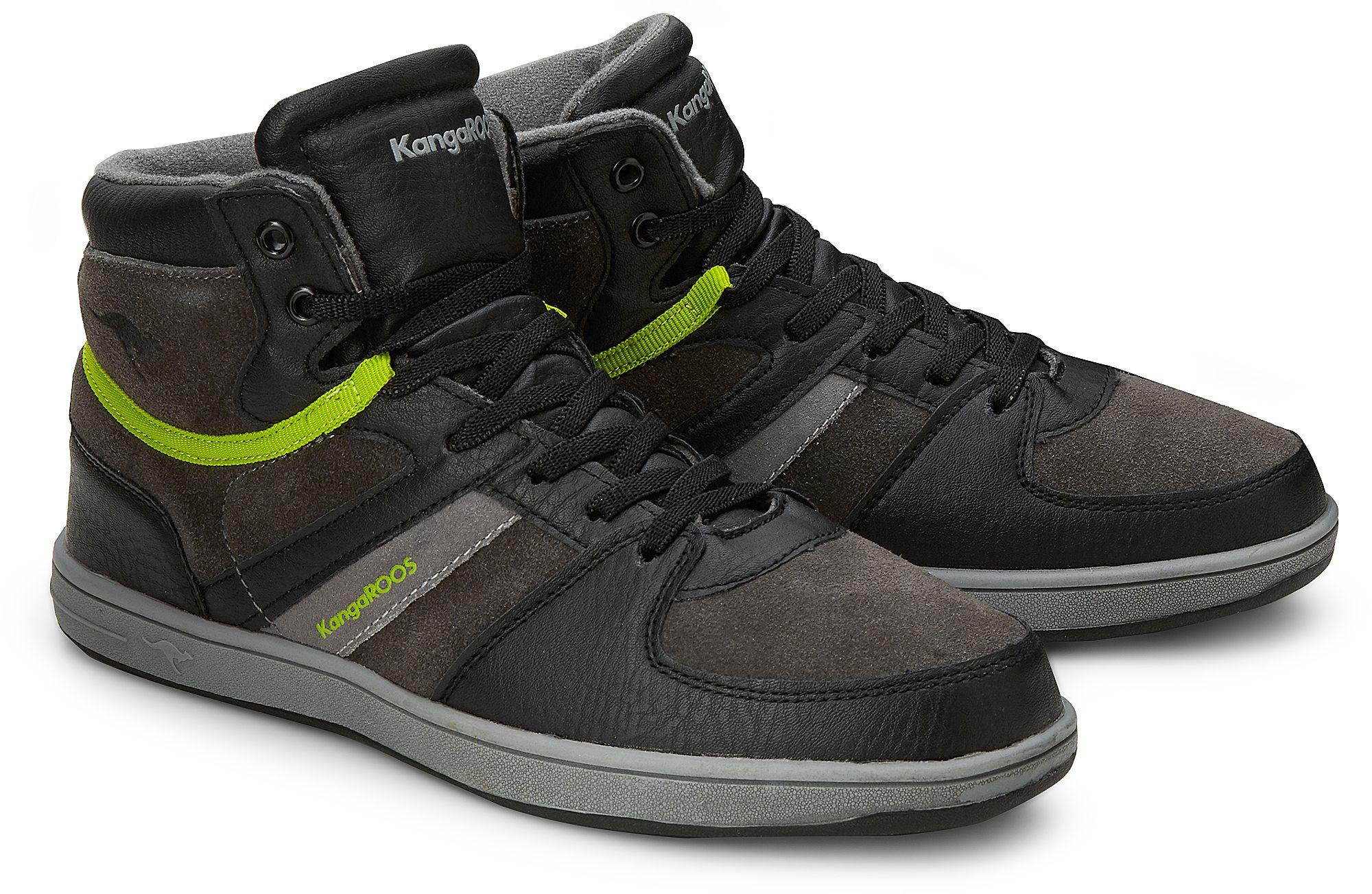 8e5a14ee11923e Sneaker Kanga Stuu von Kangaroos in schwarz für Jungen. Gr.  35
