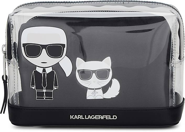 Karl Lagerfeld K/IKONIK TRANSPARENT POUCH