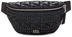 Karl Lagerfeld K/KUILTED STUDS BUMBAG