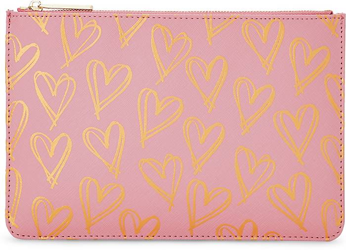 Katie Loxton Clutch PERFECT POUCH HEART PRINT