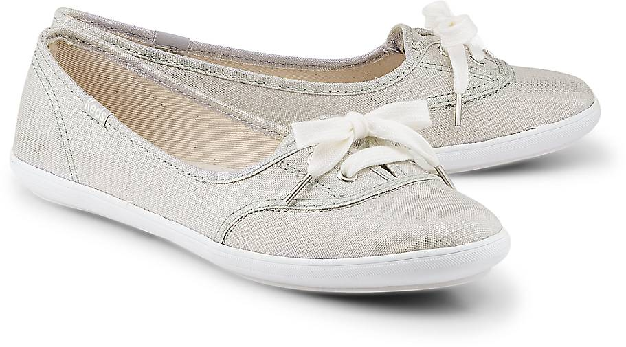 Keds TEACUP METALLIC LINEN
