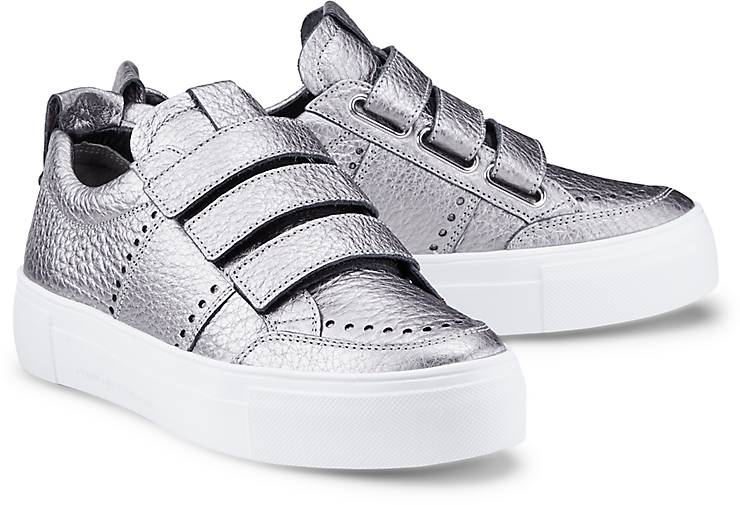 kennel schmenger metallic sneaker big sneaker low silber. Black Bedroom Furniture Sets. Home Design Ideas