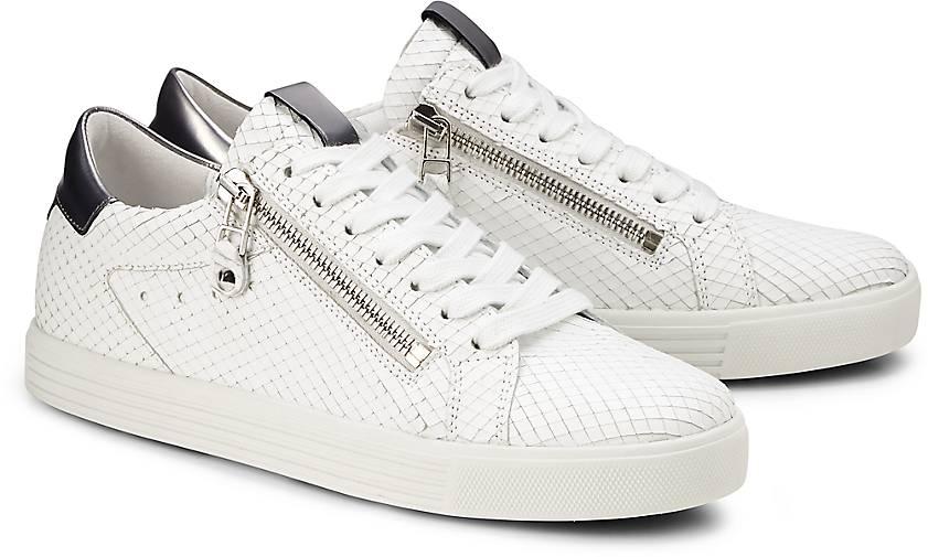 Metallic Sneaker TOWN von Kennel & Schmenger in weiß für Damen. Gr. 36 2/3,37 1/3,38,38 2/ Preisvergleich
