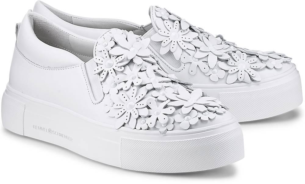Slip-On-Sneaker Big von Kennel & Schmenger in weiß für Damen. Gr. 37,37 1/2,38,38 1/2,39,4 Preisvergleich