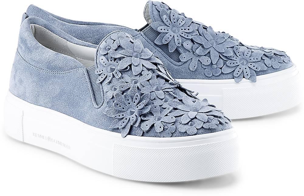 Slip-On-Sneaker von Kennel & Schmenger in blau für Damen. Gr. 38,38 1/2,39,40 Preisvergleich
