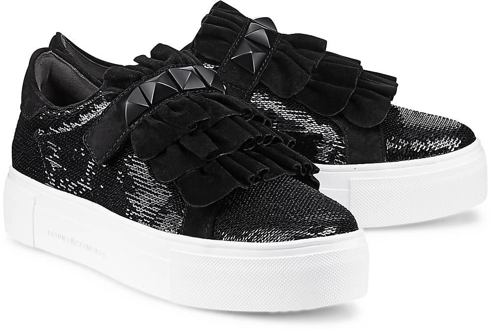 Trend-Sneaker Big von Kennel & Schmenger in schwarz für Damen. Gr. 37 1/2,38,38 1/2,39,40, Preisvergleich