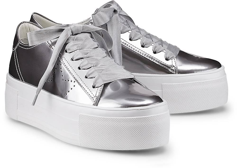 Trend-Sneaker Top von Kennel & Schmenger in silber für Damen. Gr. 38,39,40,40 1/2 Preisvergleich