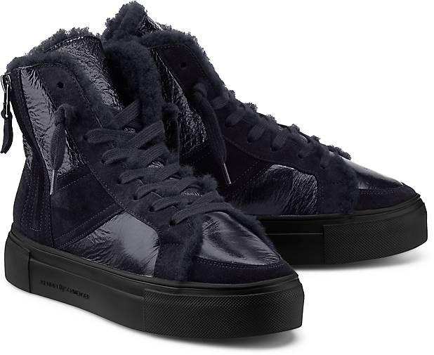 Sneaker dunkel High Schmenger Kennelamp; In bootie Schnürer Kaufen Sportliche Winter Blau Yvb6If7mgy