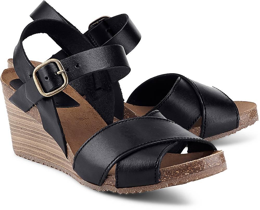 Sandalette Salambo von Kickers in schwarz für Damen. Gr. 36,37,38,39,41 Preisvergleich