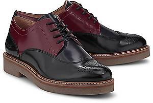 Kickers, Schnürschuh Oxany in schwarz, Schnürschuhe für Damen