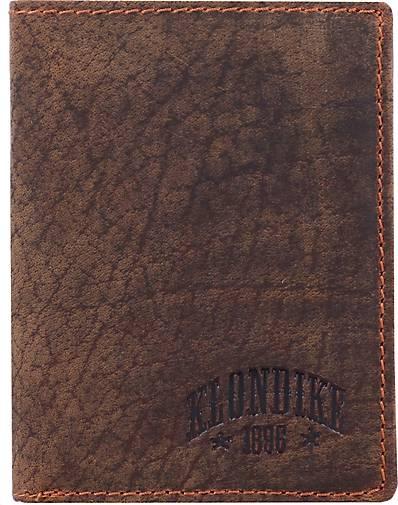Klondike 1896 Evan Geldbörse Leder 10 cm