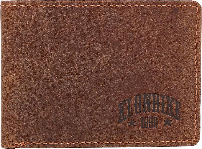 Klondike 1896 Gabe Geldbörse Leder 12 cm